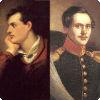 Через какого шотландского поэта гипотетически связаны родством Лермонтов и Байрон?