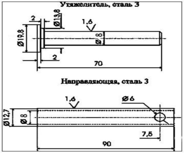 Способы модернизации и переделки пневматического пистолета МР-53М