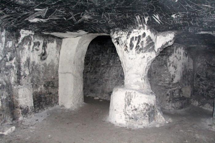 9. Шмарненские пещеры, Белгородская область