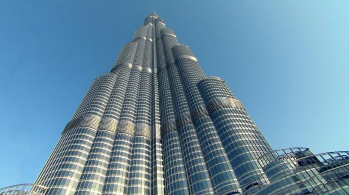 Одна из достопримечательностей в Дубае.