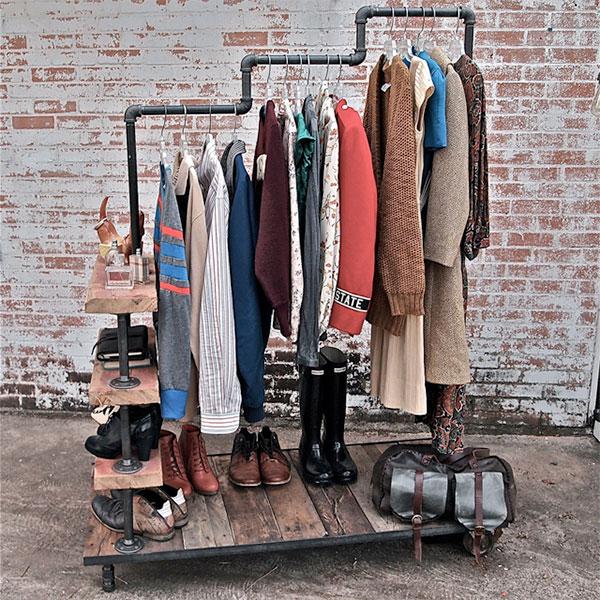 Полка для хранения гардероба