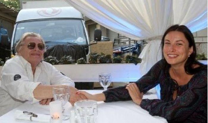 Юрий Антонов с дочерью Людмилой. / Фото: www.liza.ua