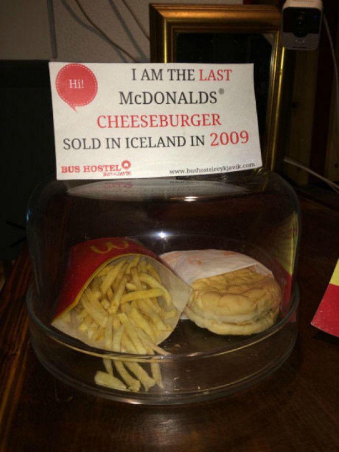 Последний чизбургер купленный в Исландии