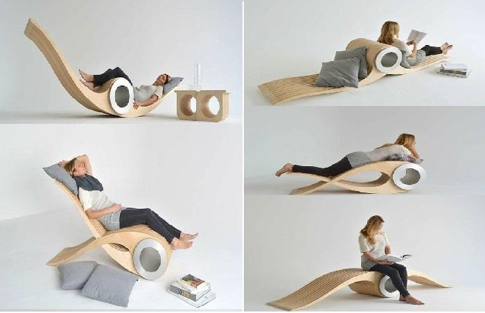 Кресло одно, а функций выполняет пять.