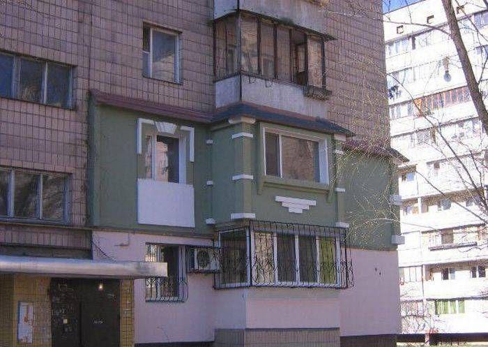 этаж, постройка, фасад, креатив