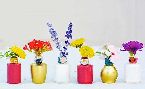 Мини-вазочки для украшения дома за 5 минут фото 1