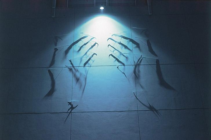 shadows09 Художник, рисующий тенью