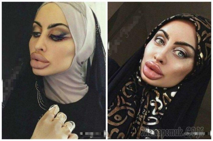 Под хиджабом трусики