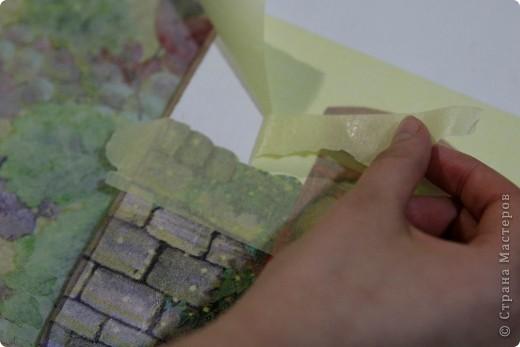 Декор предметов, Мастер-класс Декупаж: как соединить 2 салфетки м\к Салфетки Новый год. Фото 6