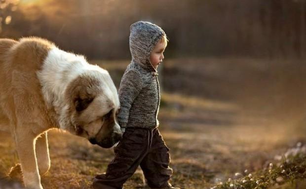 Дети, которых воспитали животные