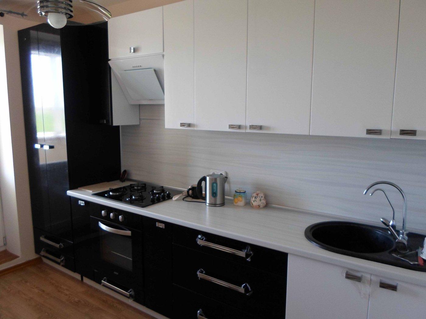 Прямая кухня дизайн фото