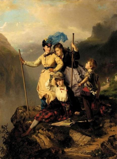 художник Charles Edouard Boutibonne (Шарль Эдуар Бутибон) картины – 12