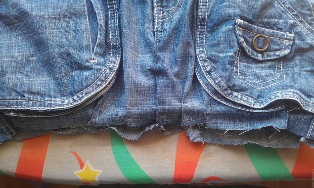 Модная сумка из старых джинсов, фото № 4