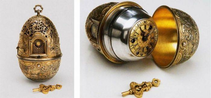 Часы, созданные Иваном Кулибиным для императрицы Екатерины II