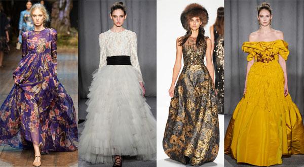 Модные вечерние платья Ball gown осень-зима 2014/2015