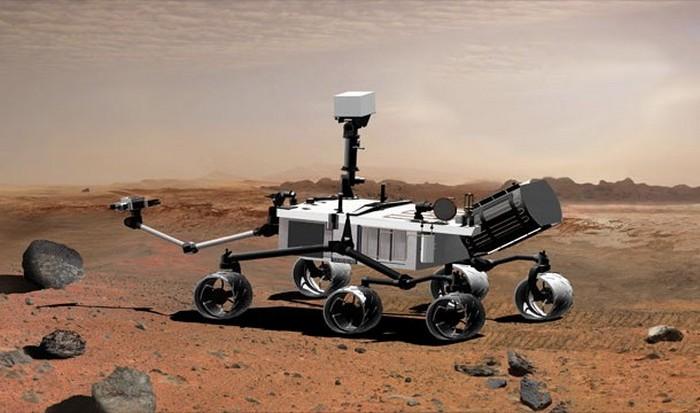 NASA: «незаконное проникновение на Марс».