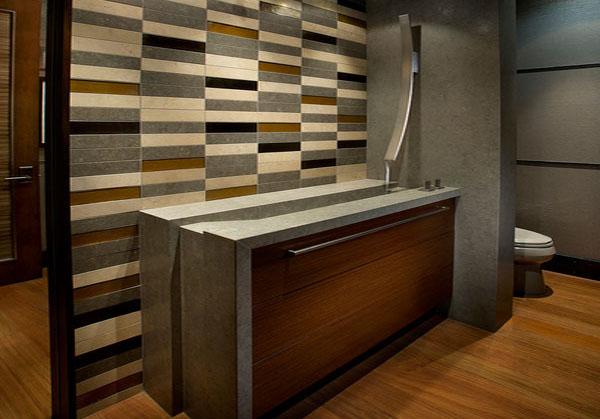 Ванная комната от IMI Design Inc.