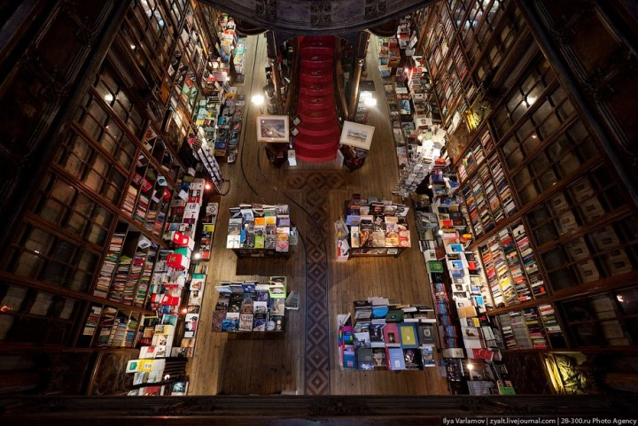 Livraria Lello – один из самых красивых книжных магазинов в мире