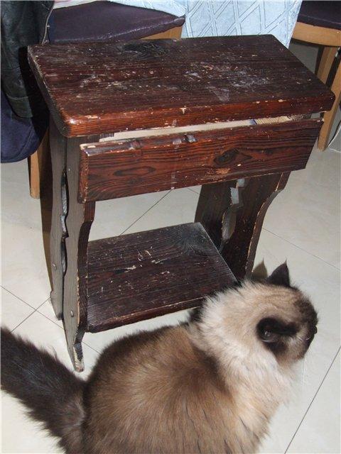 Декупаж на мебели