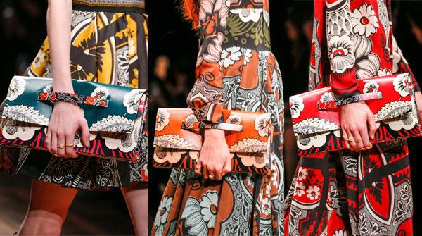 Модные принты клатчей весна-лето 2015