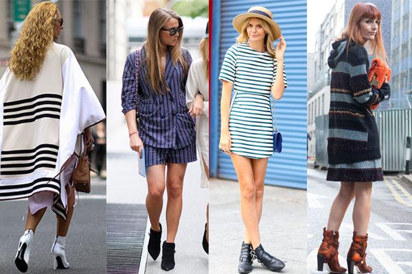 УУличная мода весна-лето 2015: Модная полоска