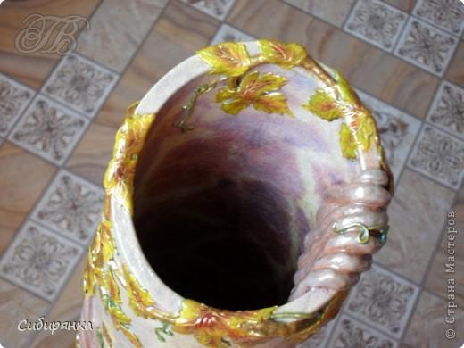 Добрый день, Страна Мастеров!!! Как и обещала, покажу некоторые промежуточные фотографии  процесса изготовления напольной вазы с африканскими мотивами. . Фото 25