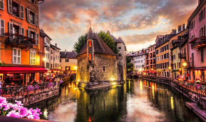 Анси, Франция Сказочно, города, красиво, места, мир, пейзаж, планета, фото