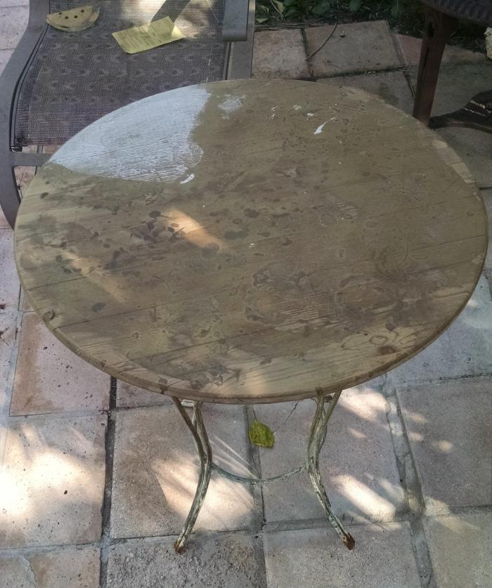 Мозаичный стол своими руками