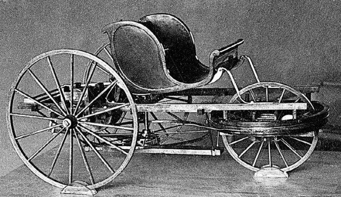 Самобеглая коляска Ивана Кулибина.