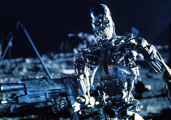 Кадр из фильма Терминатор.