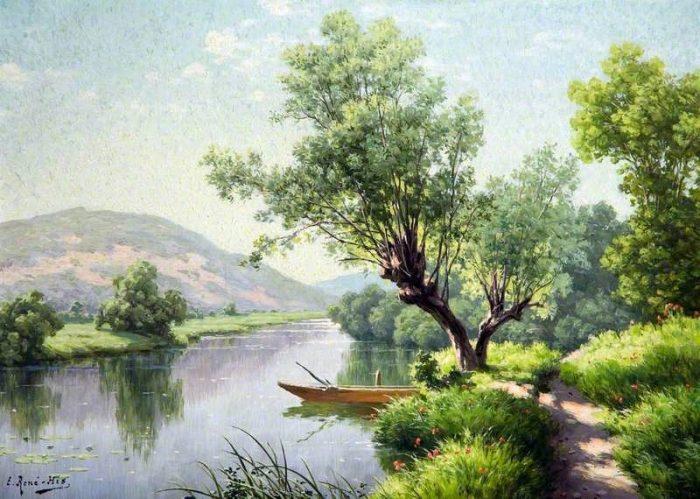 художник René Charles Edmond His картины -2-07