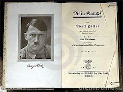 Новость на Newsland: Mein Kampf стала бестселлером в Великобритании и США