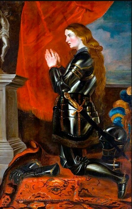 «Жанна д'Арк». Картина Рубенса. / Фото: www.wikizero.com