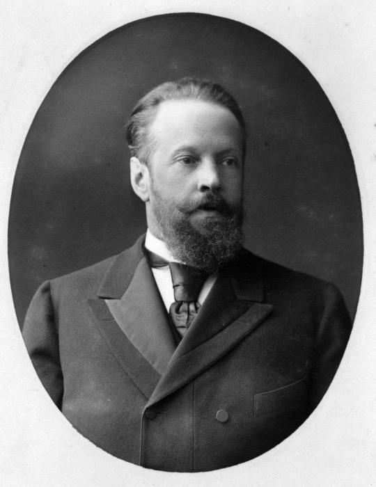 Сергей Витте в молодости./Фото: upload.wikimedia.org