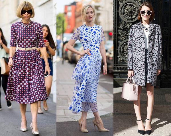 Уличная мода весна-лето 2015: Мелкий принт