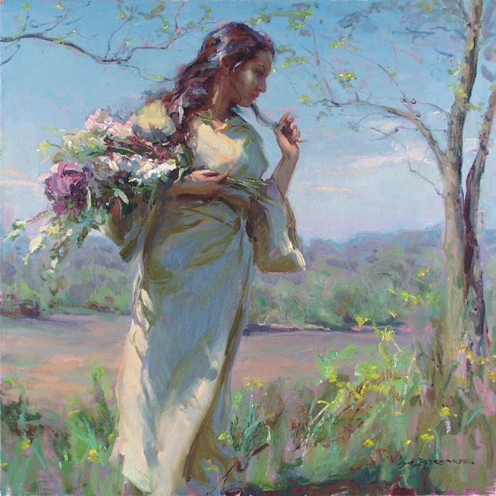 Собирание цветов. ДаниÑль Ф. Герхартц