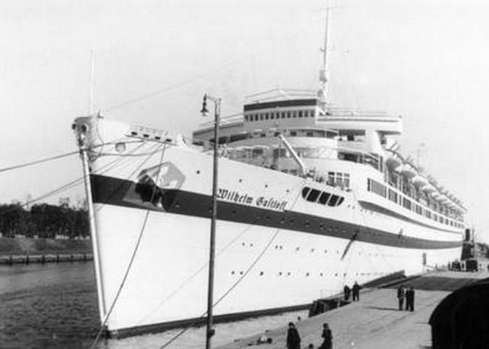 Транспортный корабль «Вильгельм Густлофф».