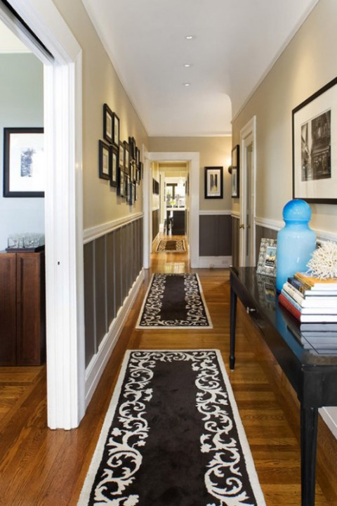 Красивый дизайн коридора фото