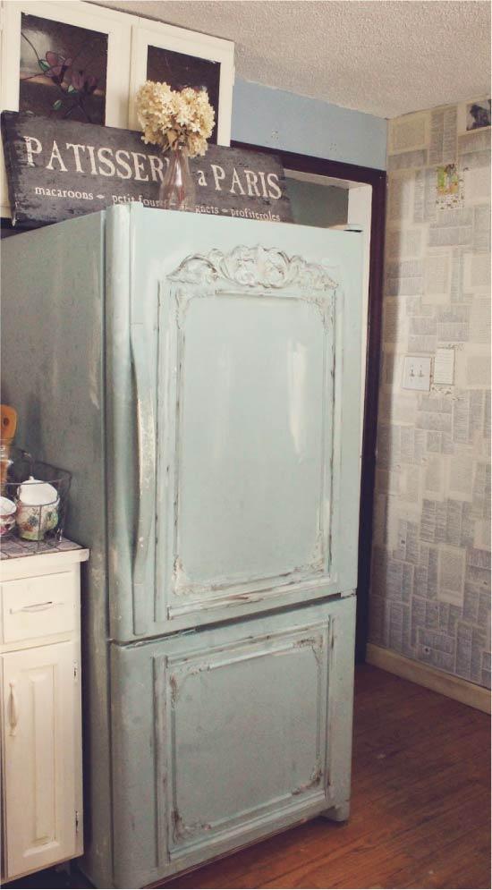 Идея переделки старого холодильника