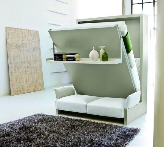 Функциональный диван-кровать для малогабариток