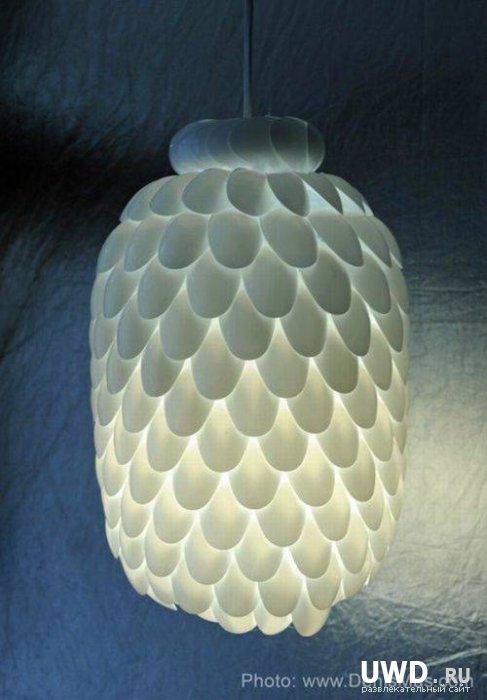 Дизайнерская лампа за 2 доллара