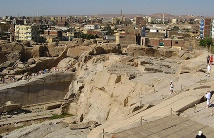 Асуанская каменоломня.