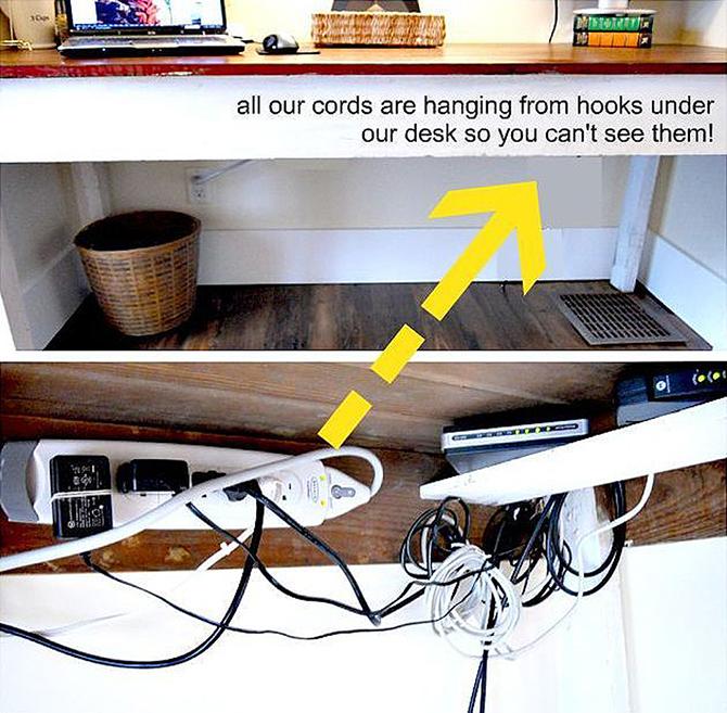Как спрятать вещи, которые мозолят глаза в доме