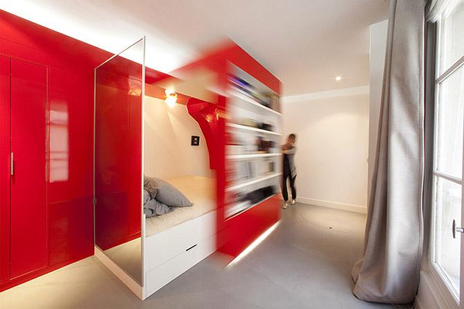 8 удивительных кроватей для небольших помещений
