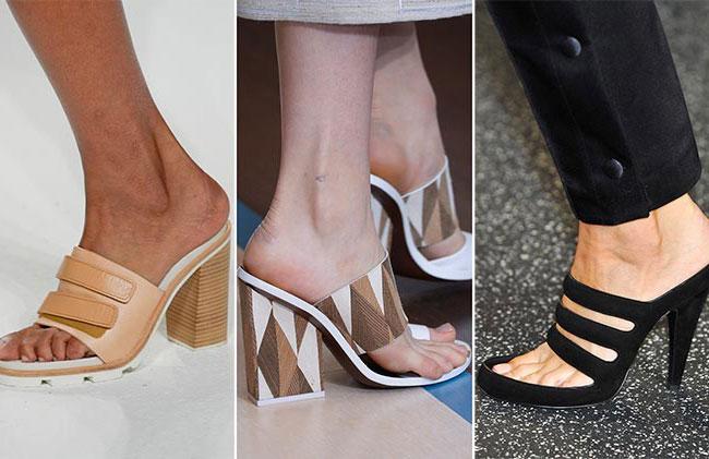 Модные шлепки - тенденции весна-лето 2015