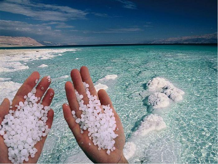 Мертвое море – самый соленый водоем в мире. / Фото: yana.kiev.ua