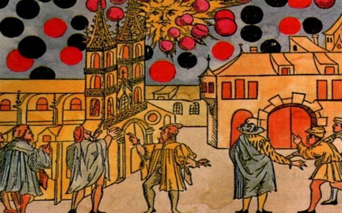 Битва НЛО в 1561 году