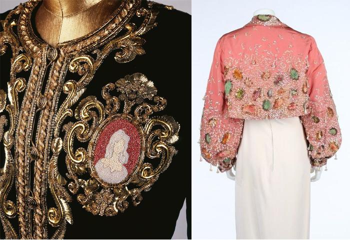 Роскошные вышивки для модных коллекций.