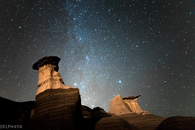 Звездное небо Канады