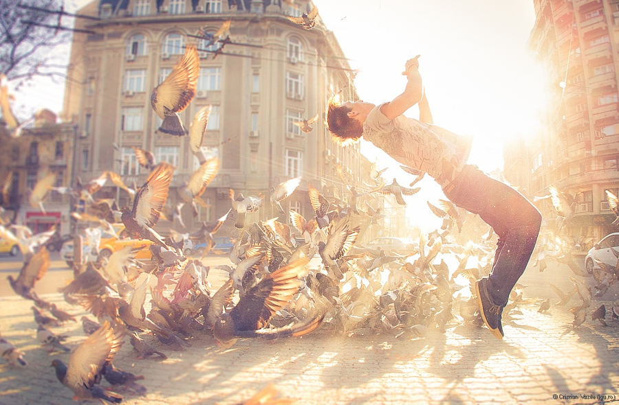 картинки танцующих утром фото